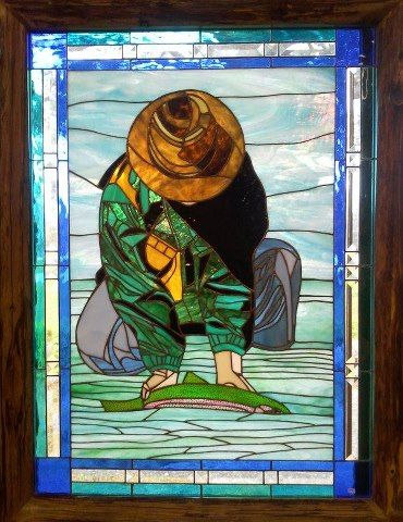 Stained Glass Cabinet Co., Catch and Release
