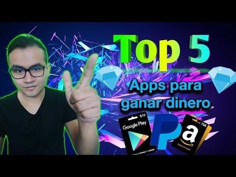 Top 5 Apps Para Ganar Dinero A Paypal Amazon Google Play Y Más De Julio 2019 Gánatelavida Com Ganar Dinero Ganar Dinero Online Dinero