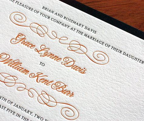 We Printed Grace In Black And Honey Gold To Radiate Formality But A Simple Ch Wedding Invitation Design Modern Playful Wedding Invitations Letterpress Wedding