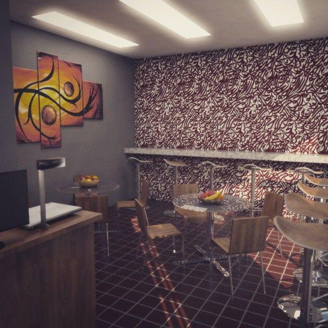 Cafe el arabigo #interiordesing #arquitectura #architecture #render #tuconstru #3d