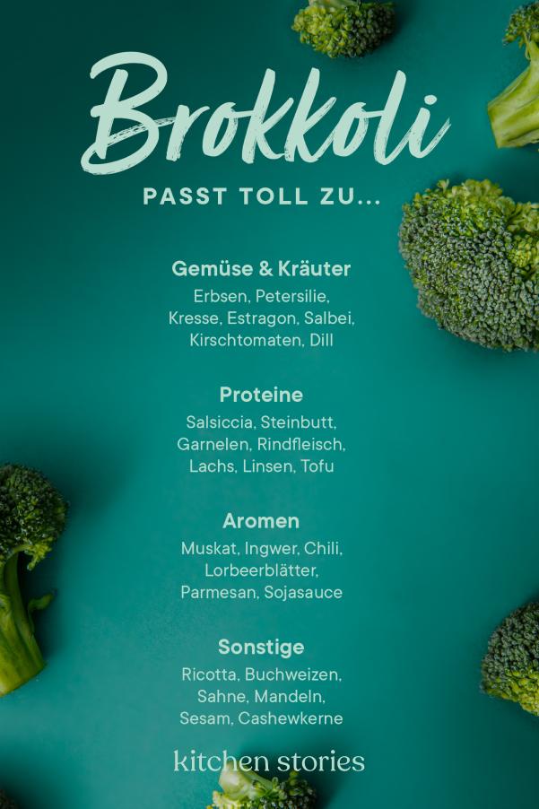 Jetzt In Saison Brokkoli Richtig Kaufen Lagern Und Zubereiten Stories Kitchen Stories In 2020 Brokkoli Obst Und Gemuse Brokkoli Kochen