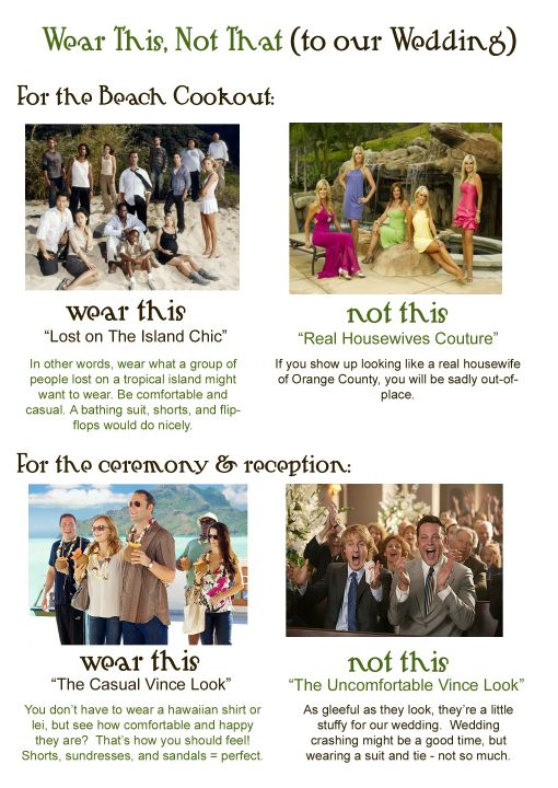 Wedding Dress Codes.Wedding Dress Code 5 Clever Ways To Tell Guests What To Wear