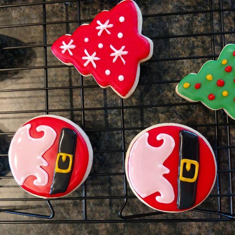 Santa Christmas Cookies Decor Ideas 2018. cookies