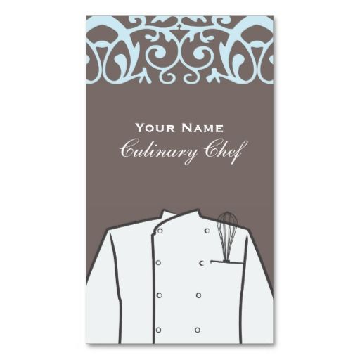 Culinary personal chef catering company business card business culinary personal chef catering company business card reheart Image collections