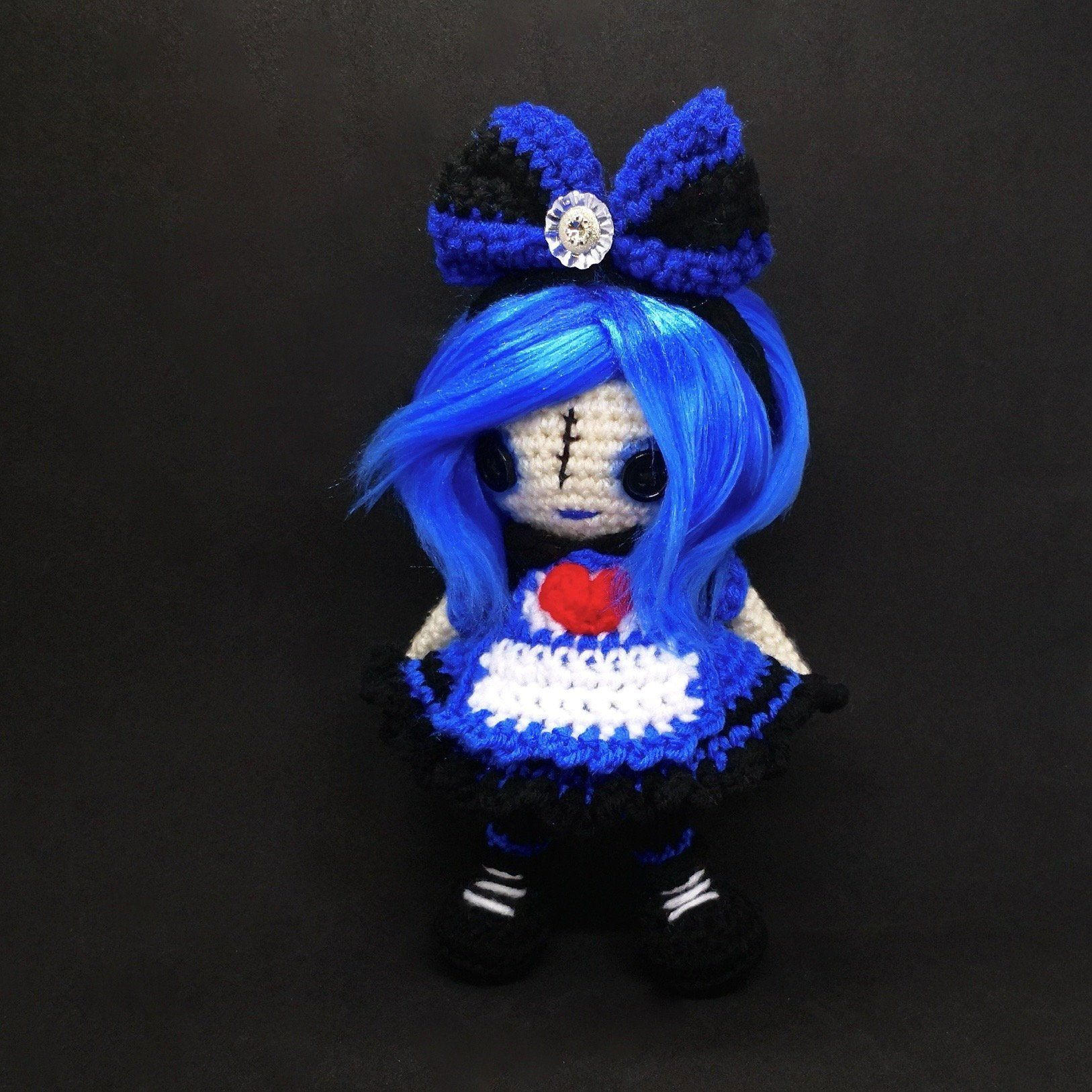 GEMINI Zodiac Crochet Art Doll OOAK by CreativeChaosMNL on Etsy ... | 1626x1626