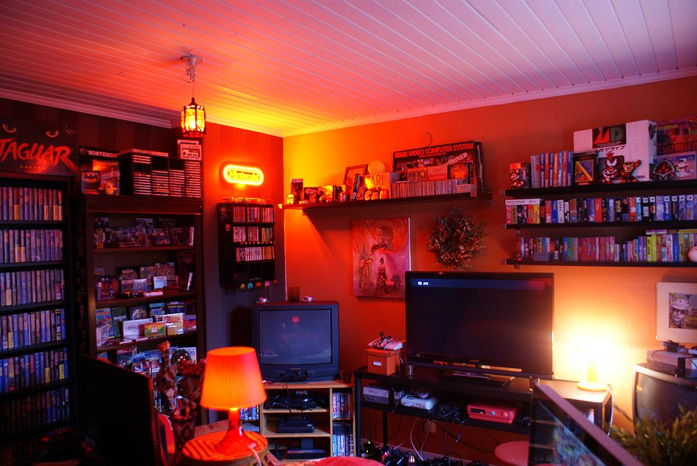 Astonishing Retro Video Game Room 2 Favorite Places Spaces Pinterest Largest Home Design Picture Inspirations Pitcheantrous