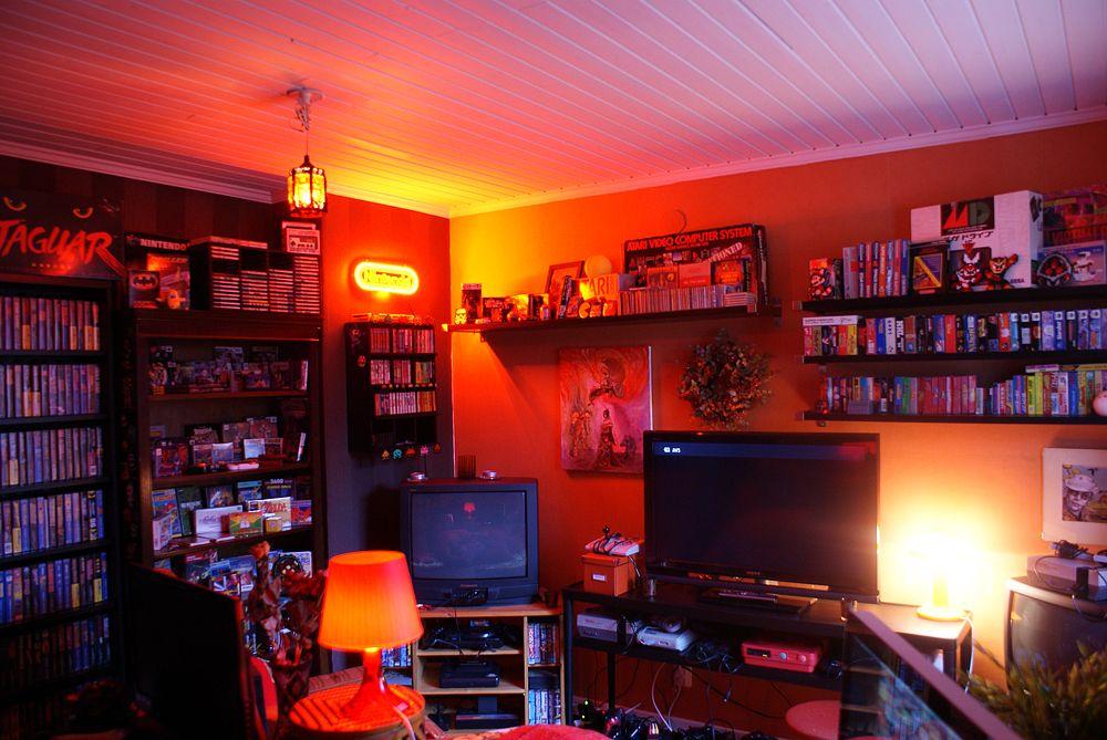 Retro Video Game Room 2  Favorite Places  Spaces  Pinterest