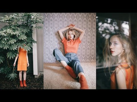 How To Edit With Vsco Film Pack 06 1960s 70s Style Photoshoot Fashion Photoshoot Vsco Film Photography Editing Tutorials
