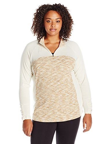 66e72170c2599 Women s Sweatshirts - Columbia Womens PlusSize Outer Spaced Ii Half Zip     Check this awesome product by going to the link at the image. (This is an  Amazon ...