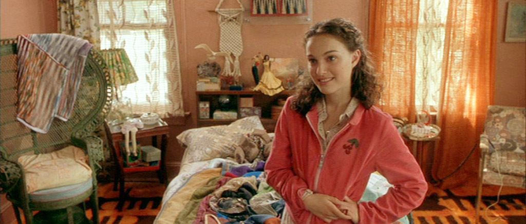 Garden State Sam's bedroom Design, Red leather jacket