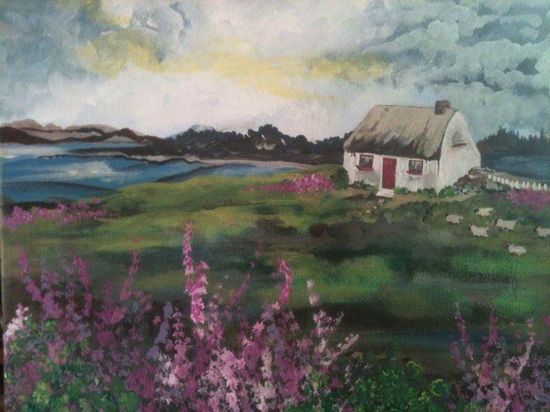 Irish Cottage Painting Event BYOB