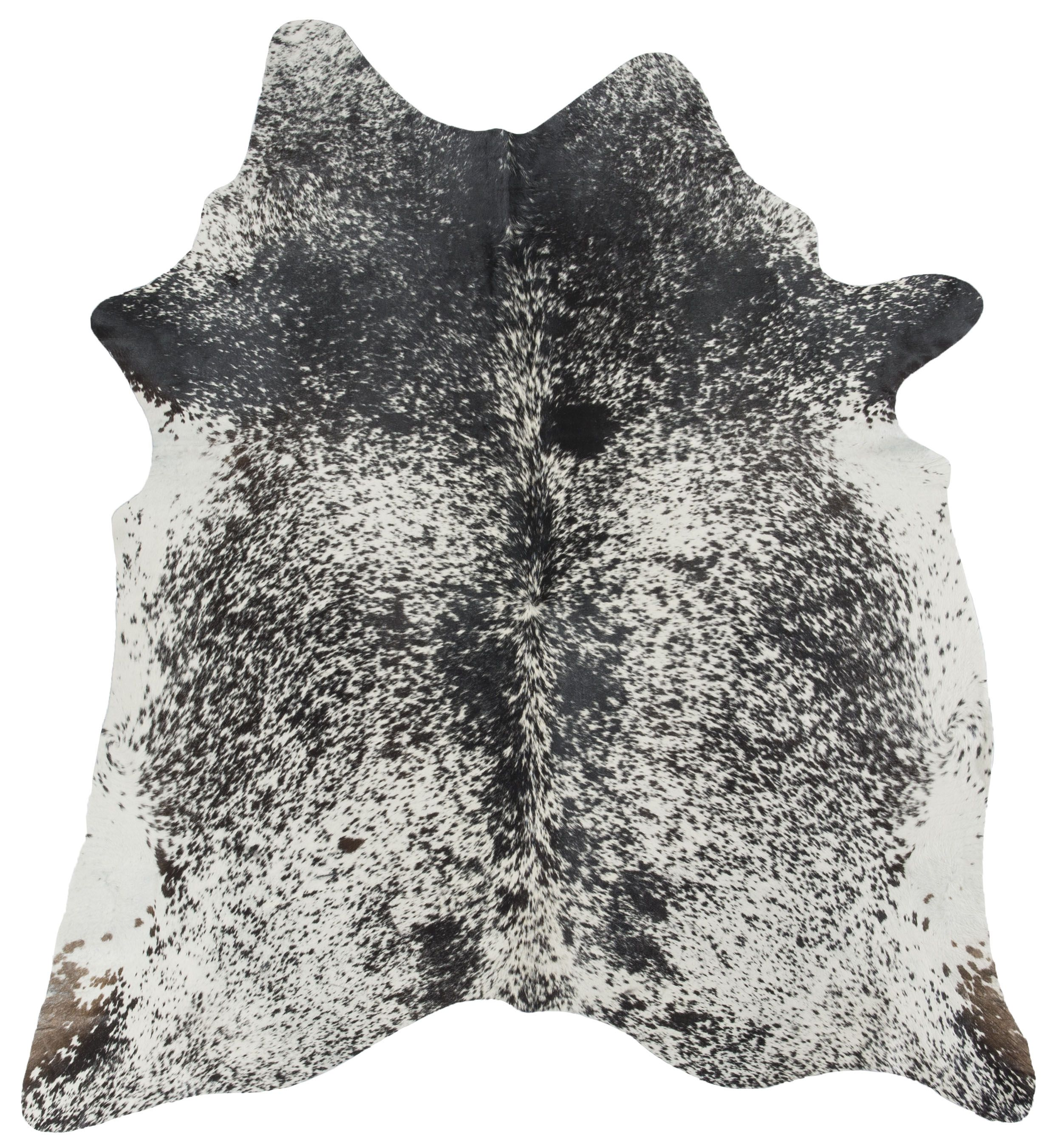 All natural Black Speckle hide, one of many naturals and numerous colors #cowhide