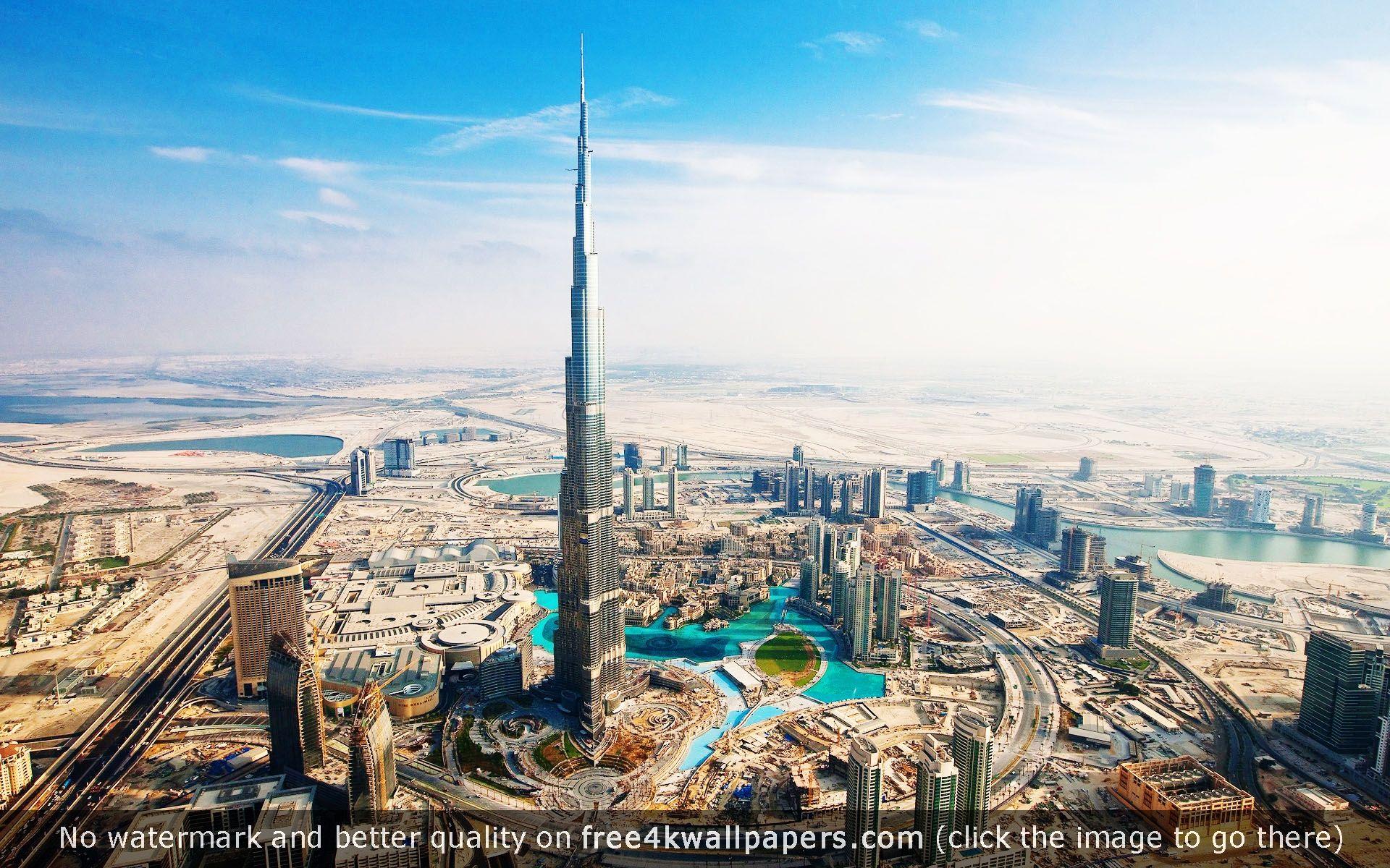 Burj Khalifa Aka Burj Dubai Hd Wallpaper Download Burj Khalifa