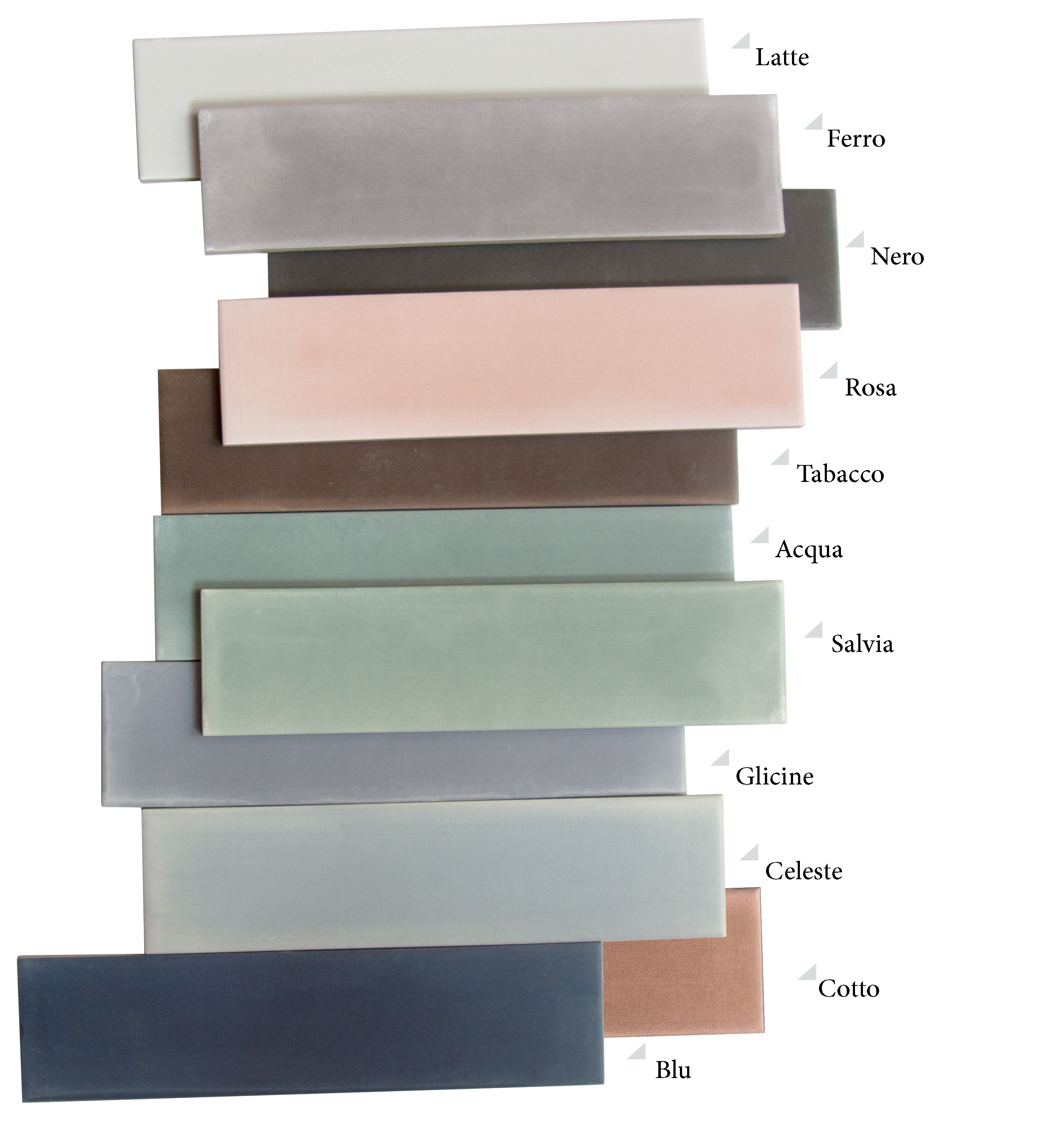 The Nuance Collection Offers Porcelain Tiles In A 7x28cm Size Available In 11 Matte Colours Their Smooth Surface With Colour In 2020 Best Laminate Rock Decor Tiles