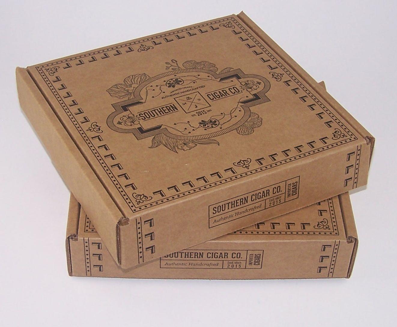 Southern Cigar Company Box Design