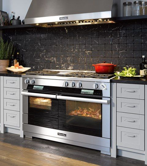 Kitchen Gallery Reviews: Thermador Vs. Miele M Touch 48 Inch Dual Fuel Range