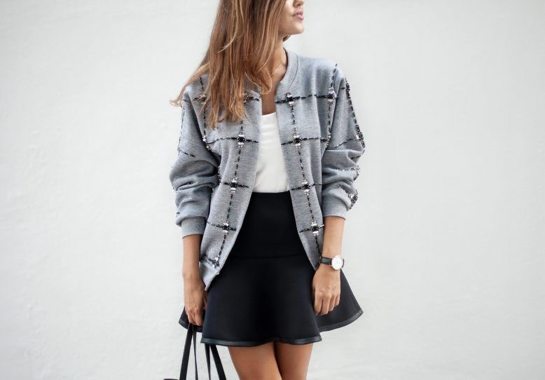 Chaqueta bombardero bricolaje | новое из старого или все джинсы ...