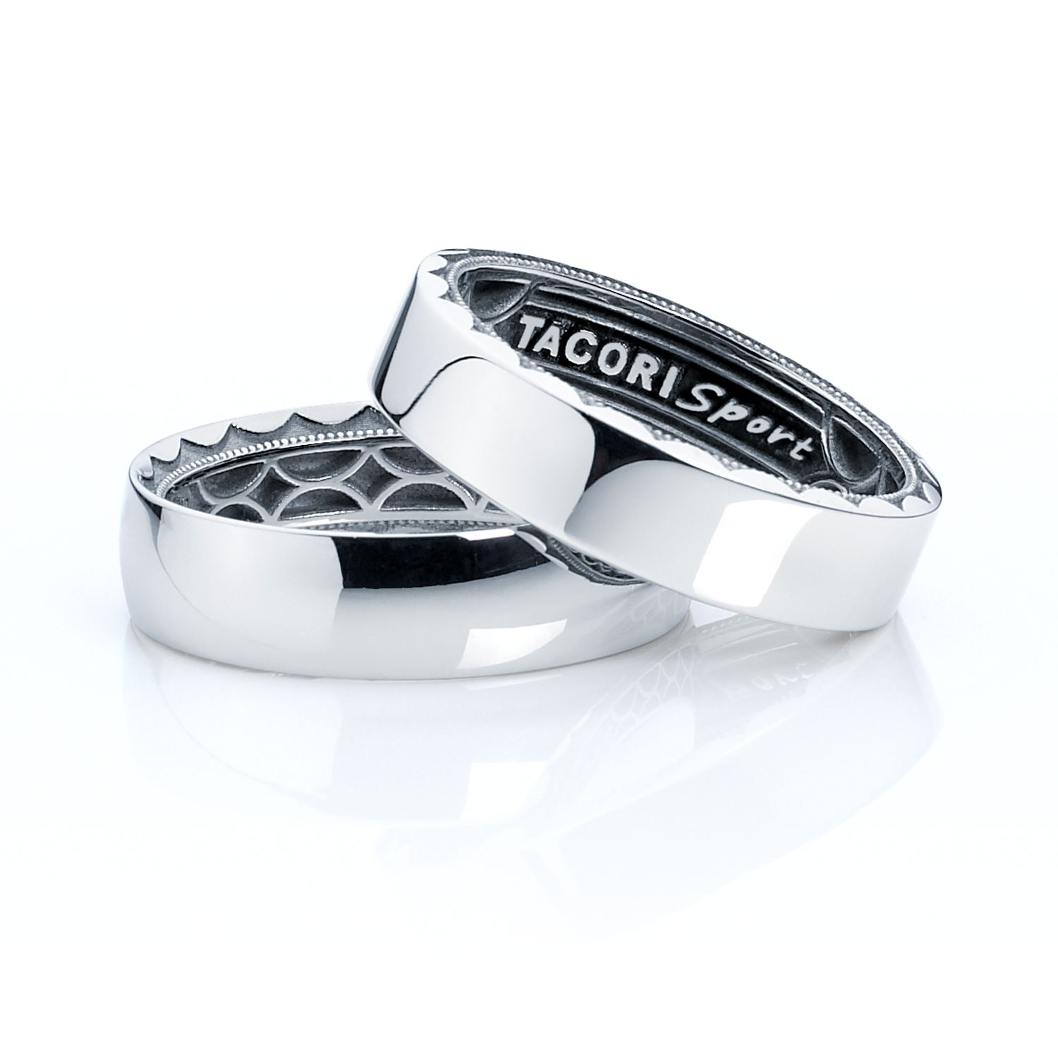 tacori mens wedding bands Receive a complementary Tacori Sport Band in stainless steel with your purchase of any Tacori gentlemen s Men Wedding