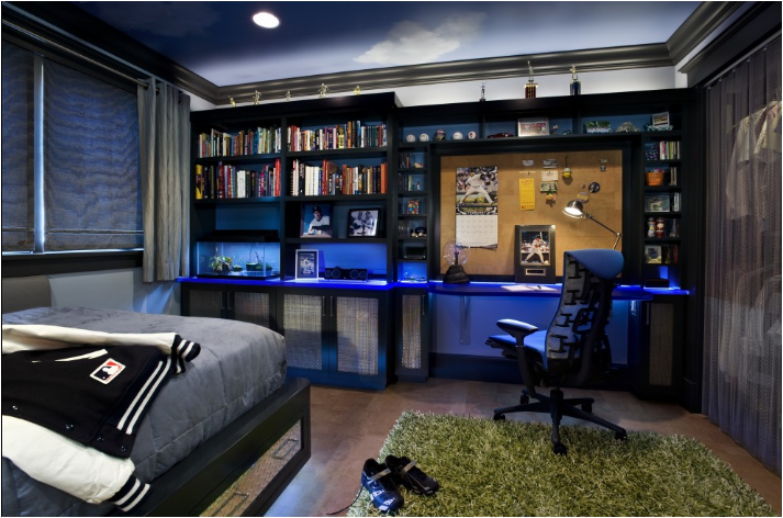 Key Interiors by Shinay: Cool Dorm Rooms Ideas for Boys