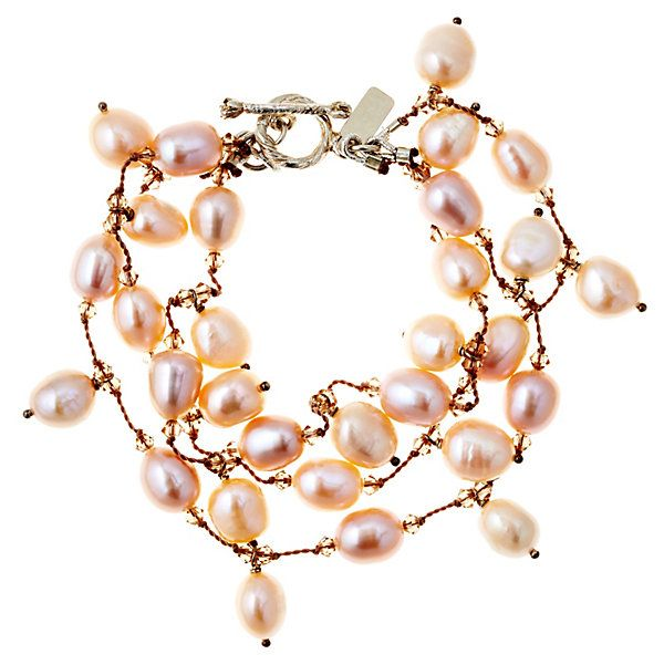 Pink Pearl Bracelet | Pastel Paradise | One Kings Lane