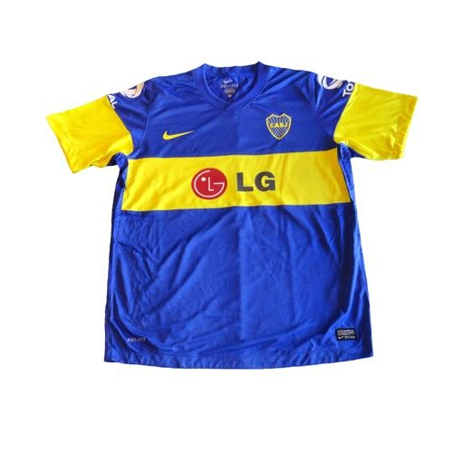 quality design 16818 759d5 NIKE BOCA JUNIORS 2012 PLAYERS VERSION HOME JERSEY   Players ...