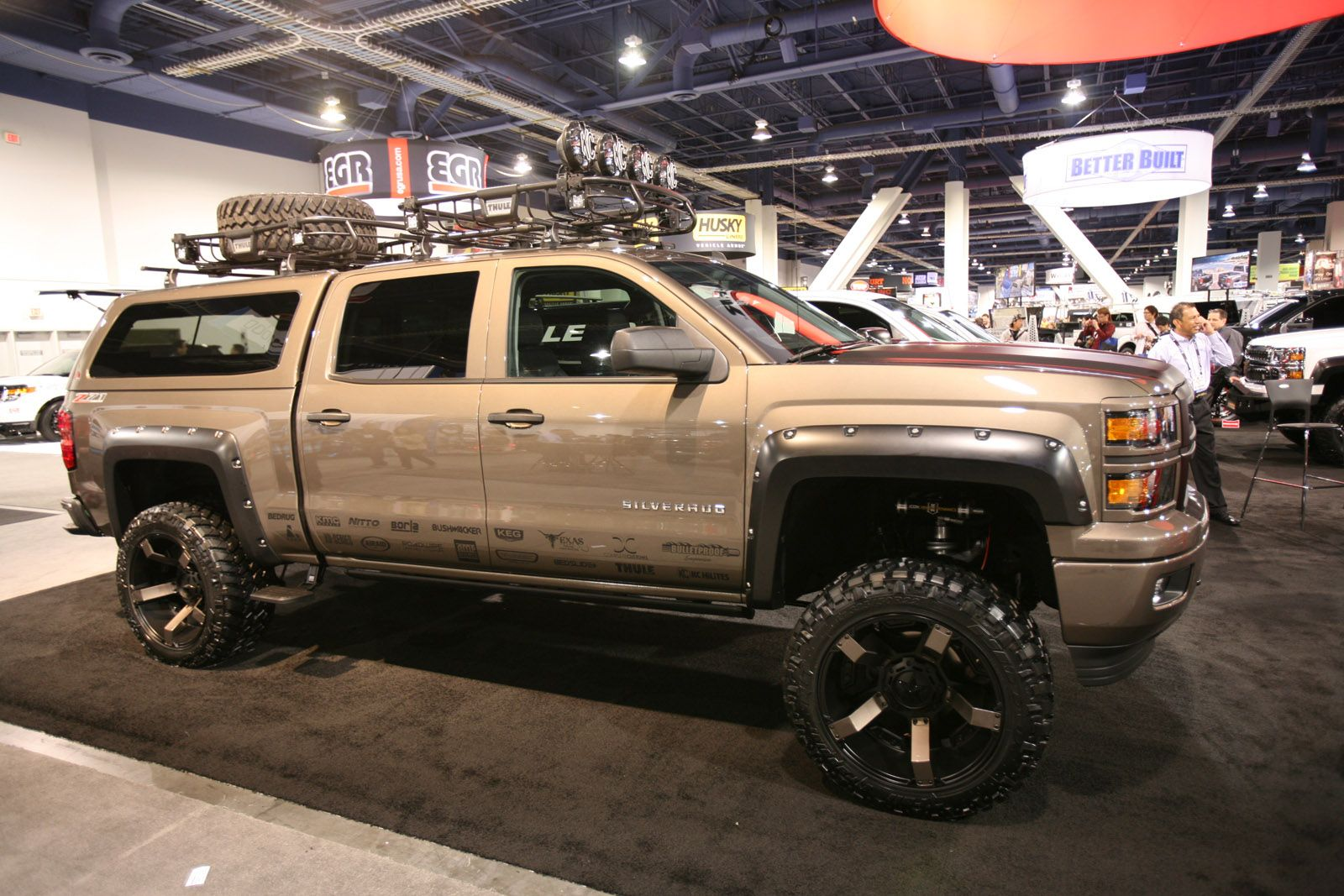 Silverado 1996 chevy silverado accessories : Custom 2014 Chevrolet Silverado and GMC Sierra trucks at SEMA 2013 ...
