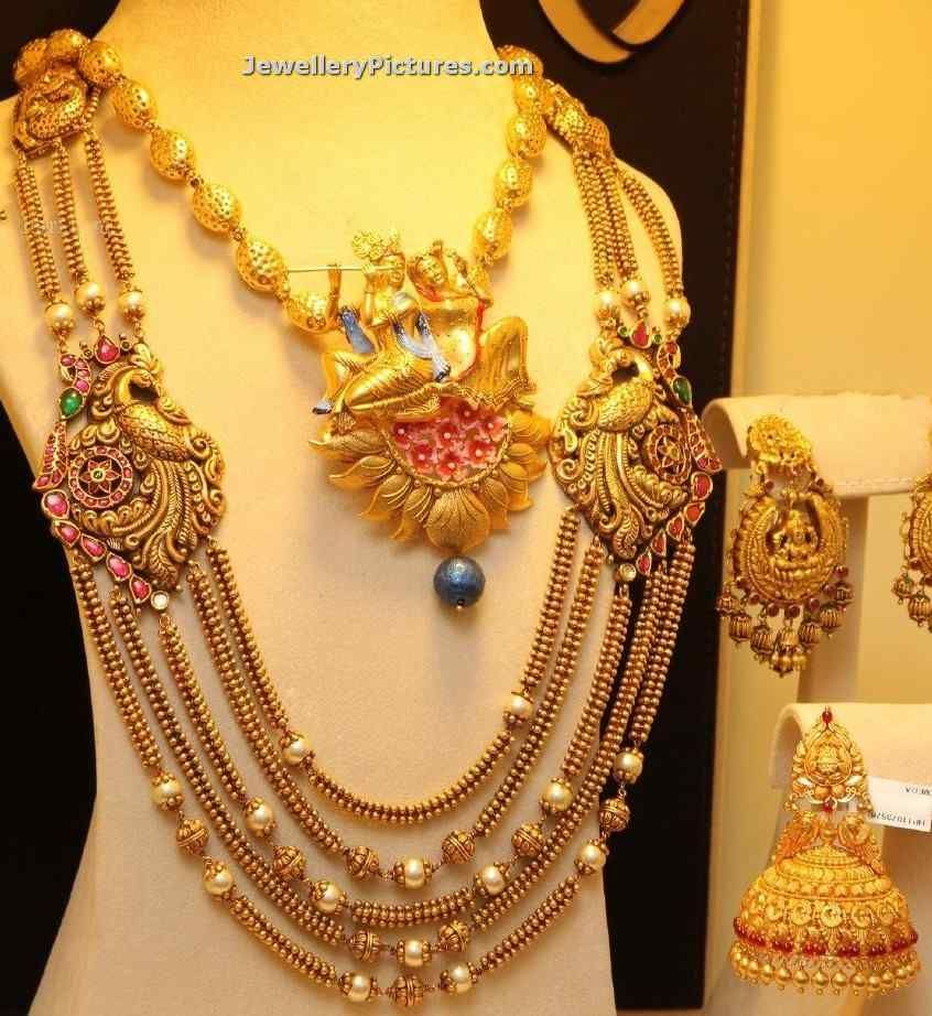 Indian Gold Jewellery Necklace Sets Google Search: Bhima Gold And Diamonds Collection Images