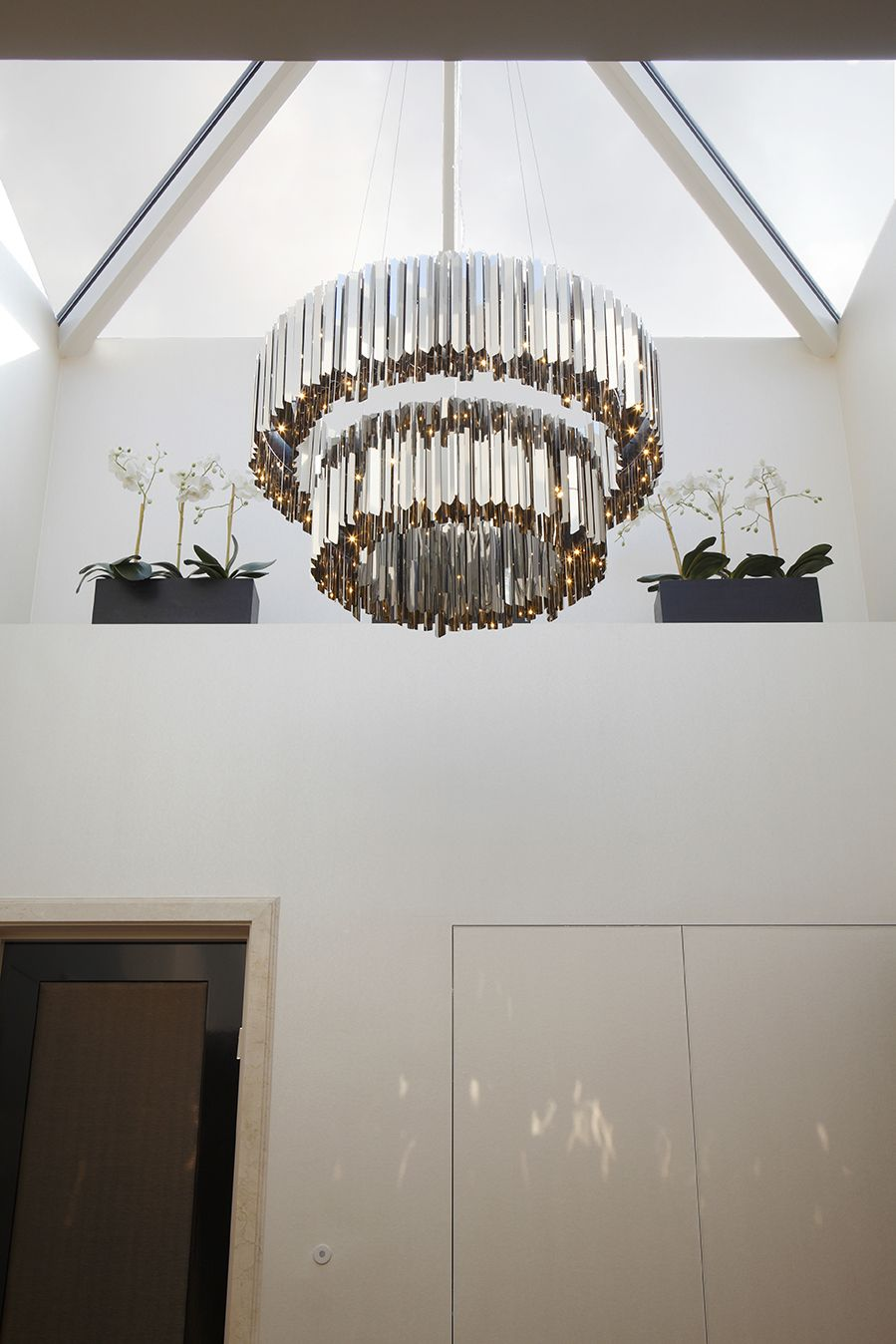 unique contemporary lighting. Tiered Facet Chandelier | Contemporary Lighting Project LIGHTING AND FIXTURE Pinterest Chandeliers, And Lights Unique L