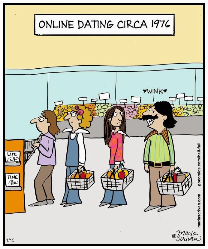 online dating sites political cartoon