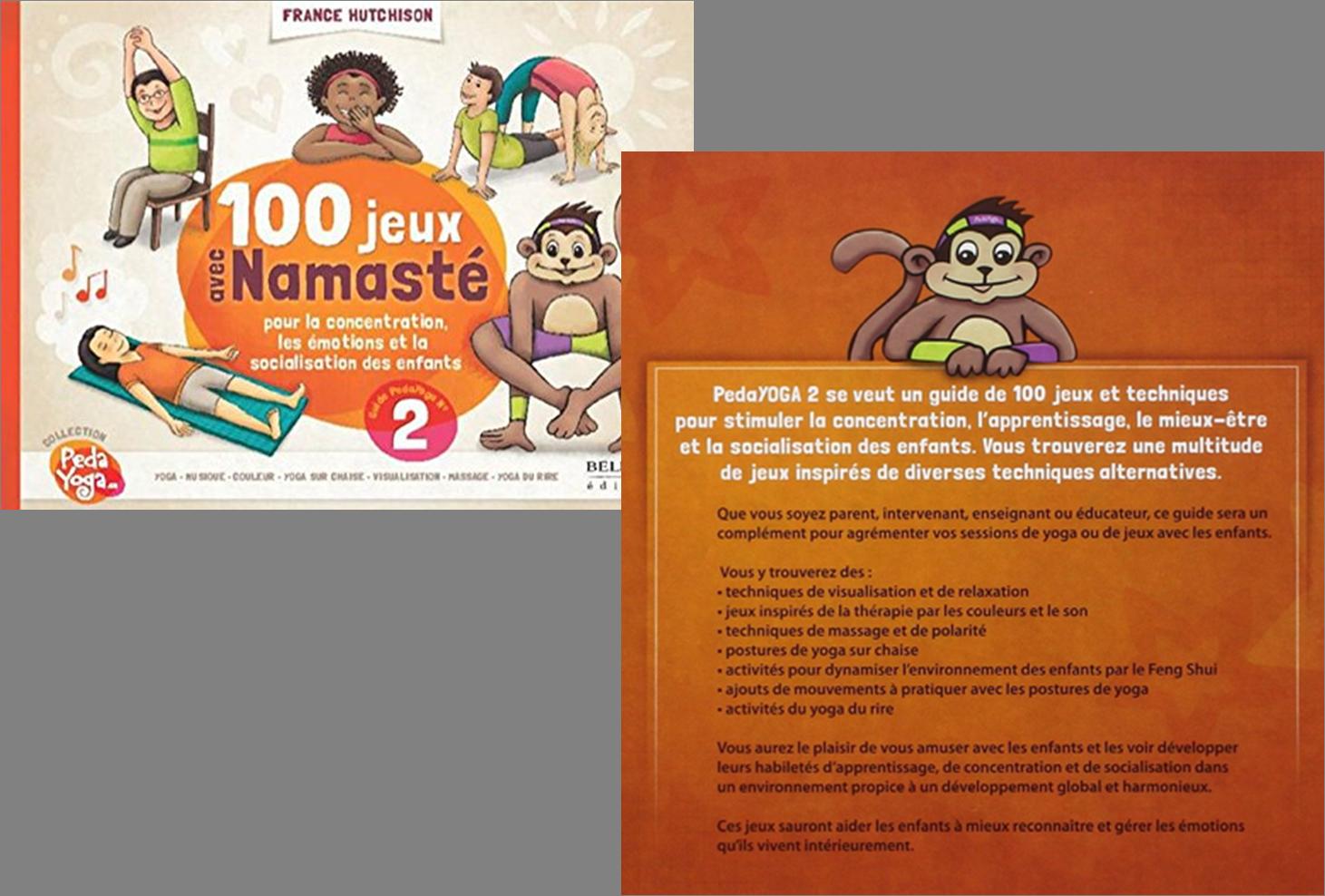 100 jeux avec namaste pour la concentration, les émotions et la  sociabilisation des enfants
