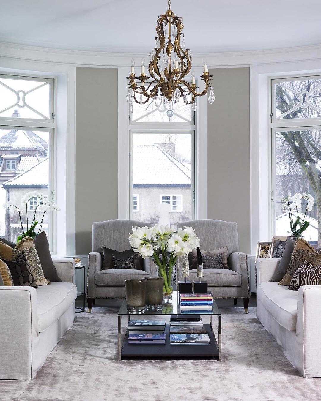 Siste Klassisk eleganse i denne stuen i Oslo, interiør ved #poppedesign QB-83