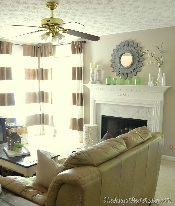 Diy Headboards Paint Colors And Living Room Paint: New Paint In Living Room - Wheat Bread By Behr