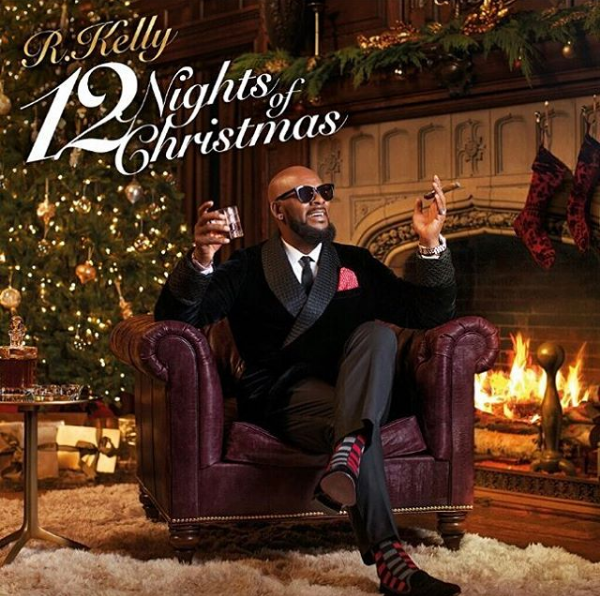 R Kelly Teases Holiday Album 12 Nights Of Christmas Coming Soon Christmas Albums Christmas Music Christmas Cover