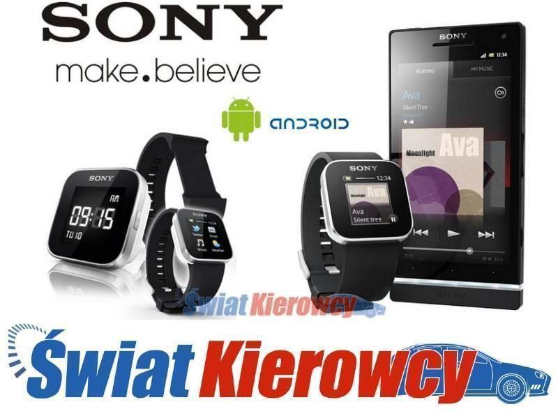 Sony Smartwatch Zegarek Mn2 Live View Android K Ce 3098624517 Oficjalne Archiwum Allegro Smart Watch Sony Android
