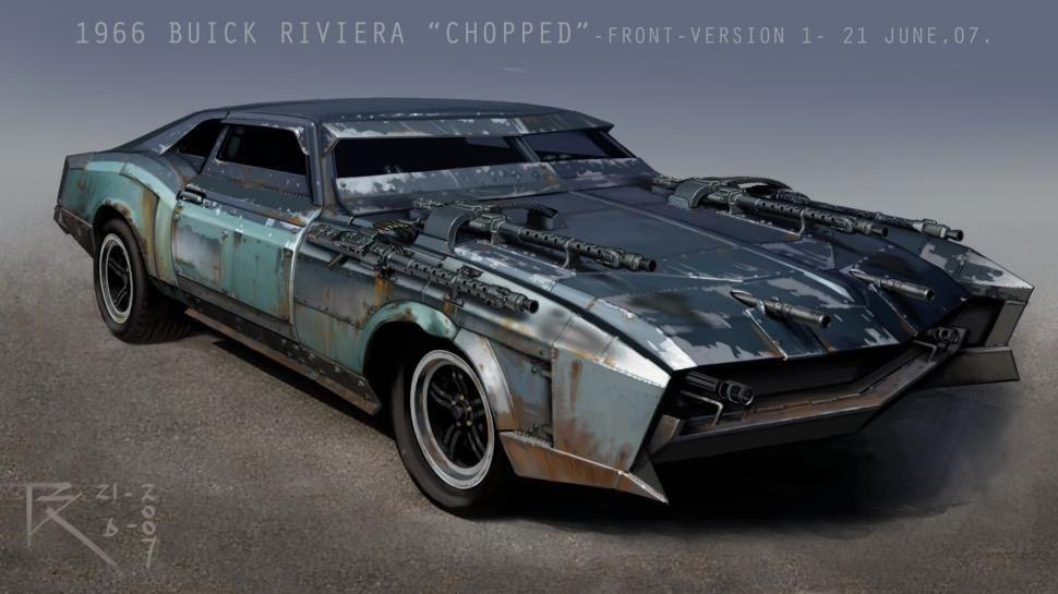 Po Zhesti Art I Muzyka Vehiculos Futuristas Coches Personalizados Vehiculo De Supervivencia
