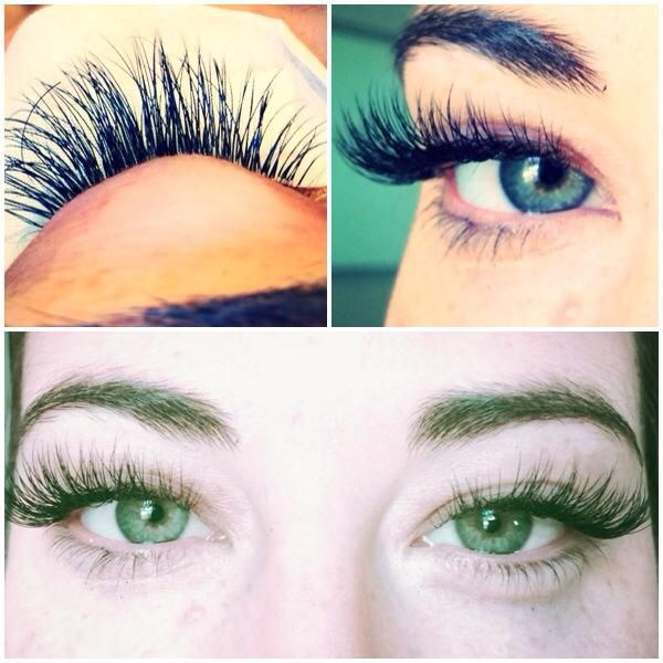 Fall in love with your lashes! Today's work. — at Panacea ...