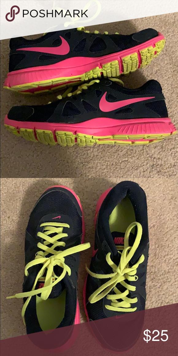 Nike Black Running Shoes | Black