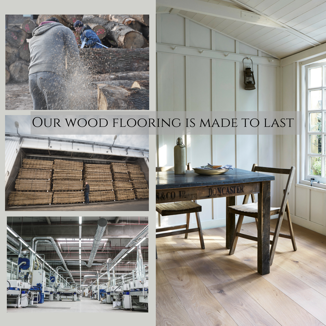 Our wood flooring is made to last. We only use the finest
