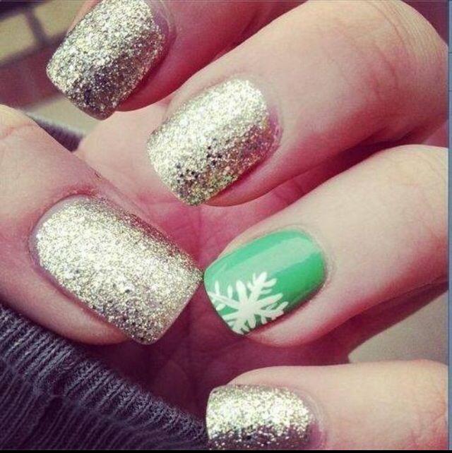 Snow Flaked Nail Nails 3 Pinterest Cute Nails Nails And Nail