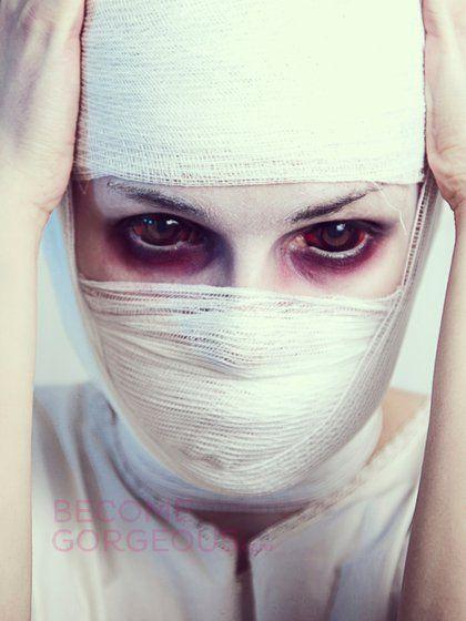 Unique Halloween Makeup | ... make-up/photos/makeup-ideas-for-halloween/scary-face-halloween-makeup