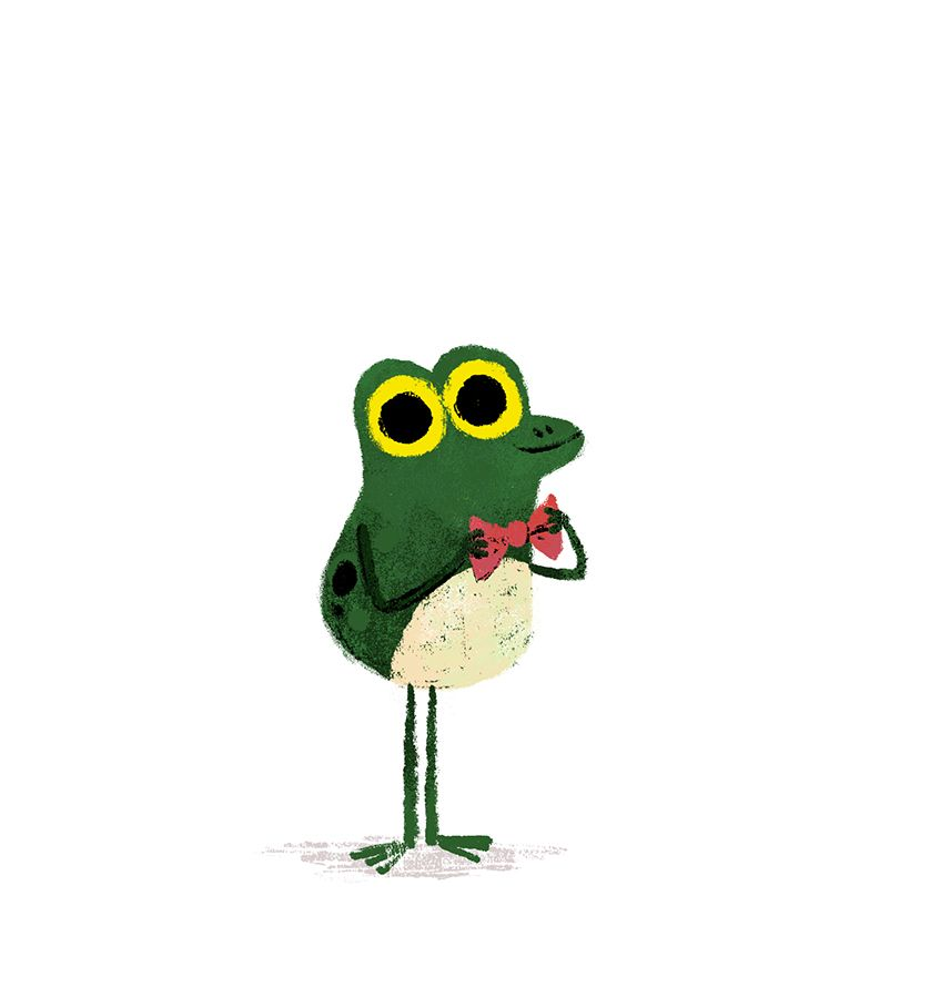Frog illustration by Chris Chatterton