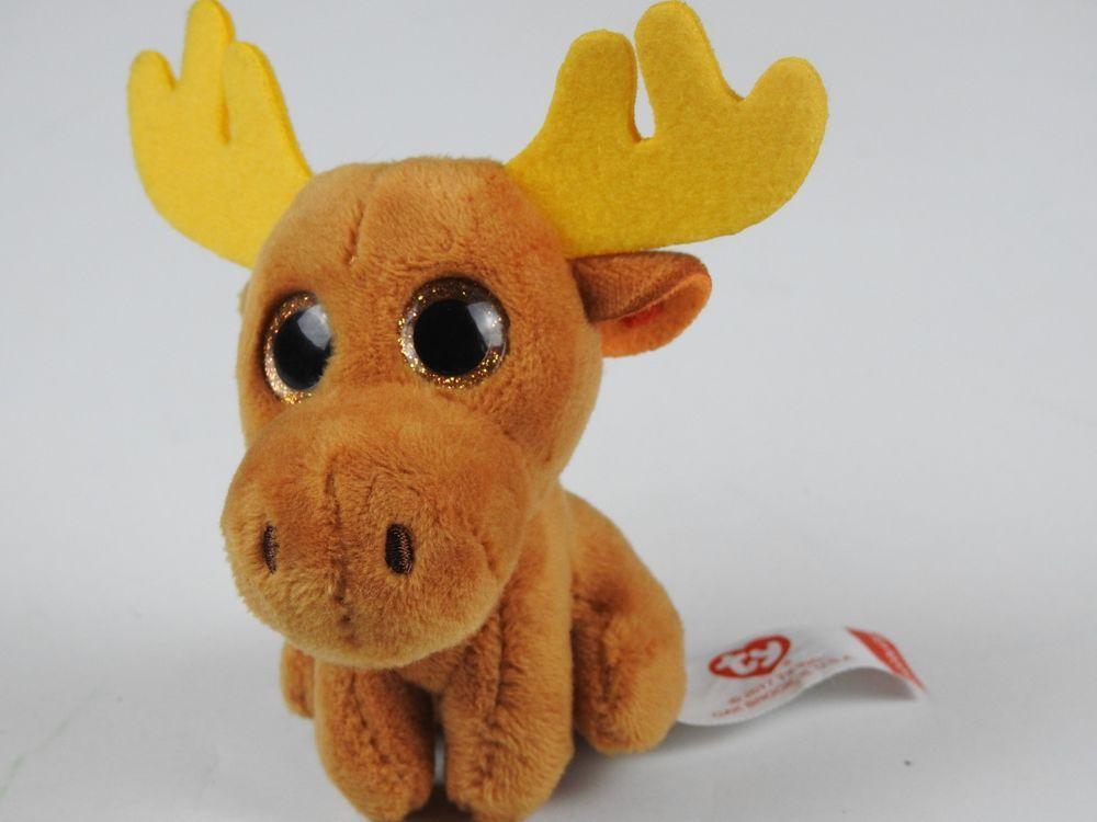80491ff8a9a McDonald s Ty Teenie Beanie Boos Chocolate Moose 4