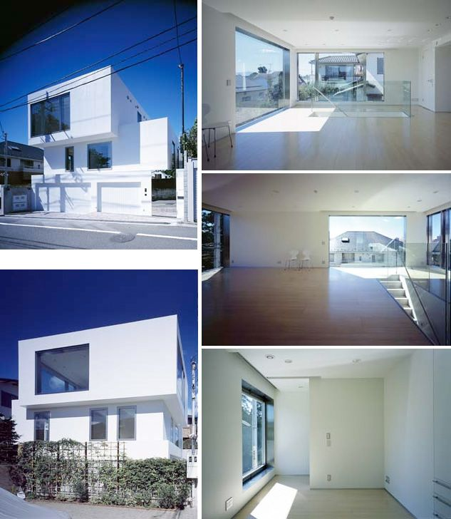 Minimalist House Design contemporary residential 3 story building | modern minimalist home