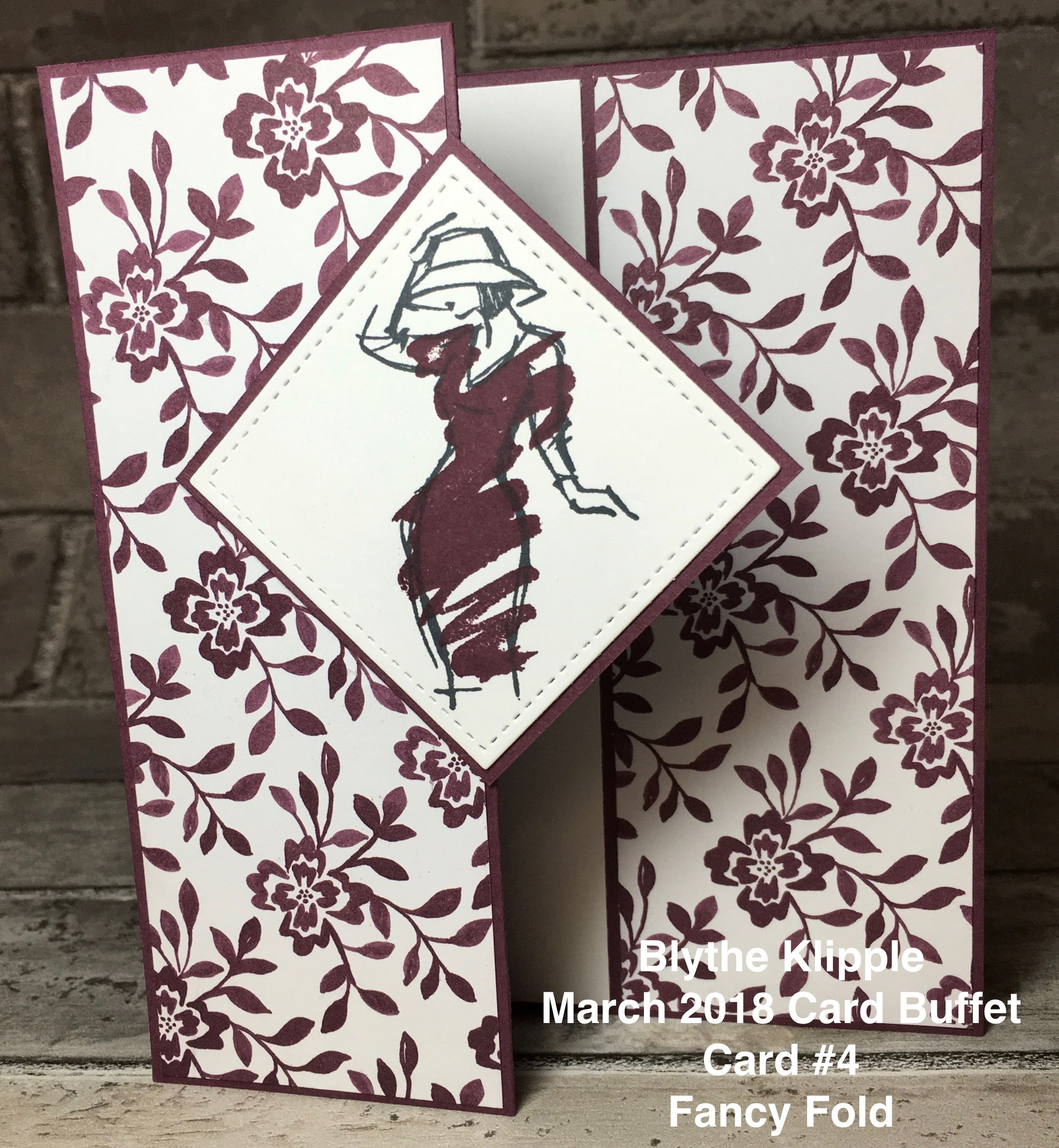 Card Making Ideas 2018 Part - 47: Blytheu0027s Card Buffet, March 2018 - Stamping With Blythe