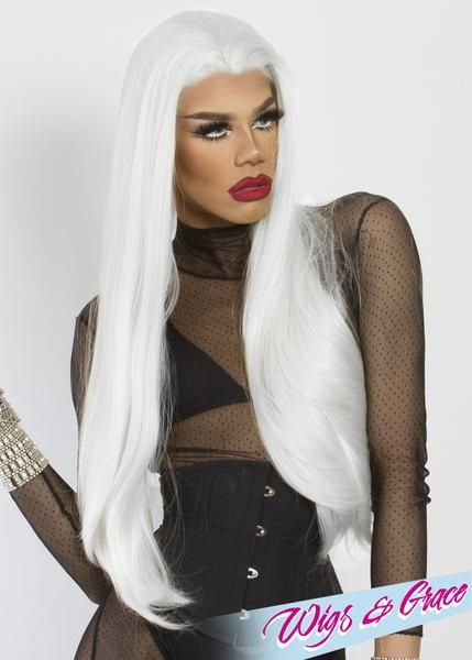 BEYOND PLATINUM DONATELLA - Wigs and Grace , drag queen wig, drag queen, lace front wig, high quality wig, rupauls drag race wig, rpdr wig, kim chi wig