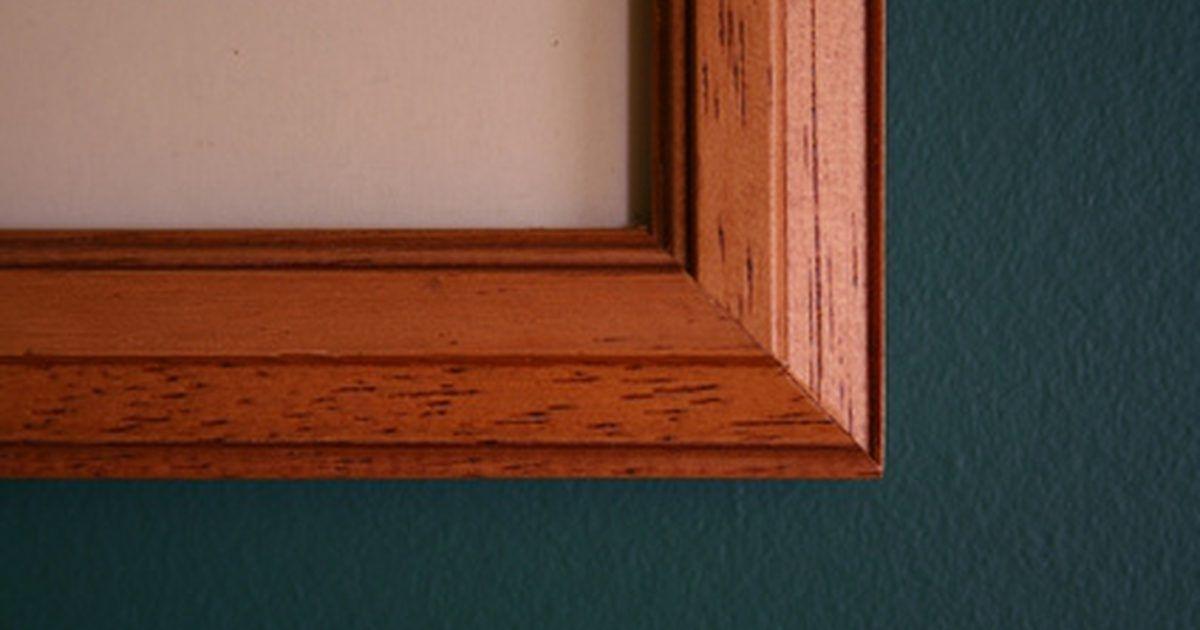 Cómo construir un marco para fotos de madera. | Pinterest | Marcos ...