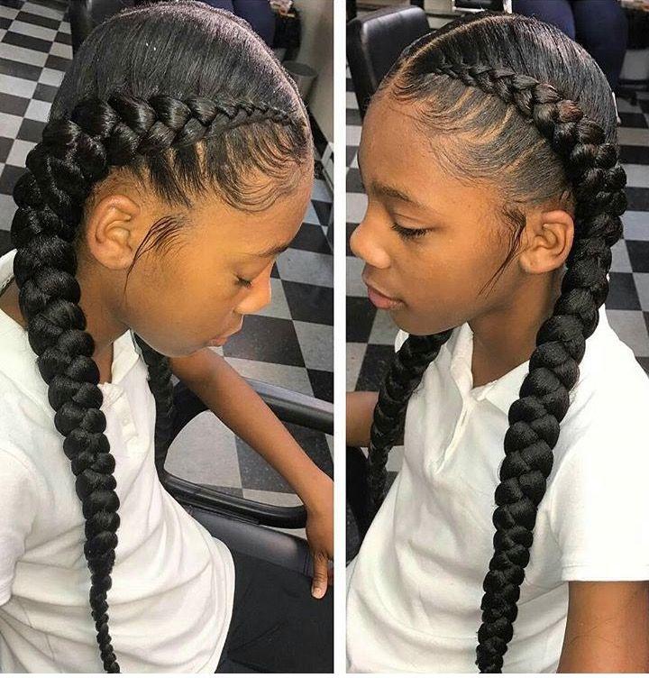 ғollow Qyeenĸena123 ғor More Poppin Pinѕ Braided Hairstyles Hair Styles Braids For Black Hair