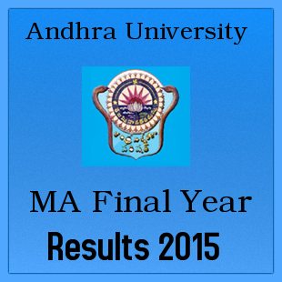 Manabadi AU MA Final Year Results 2015 Finals
