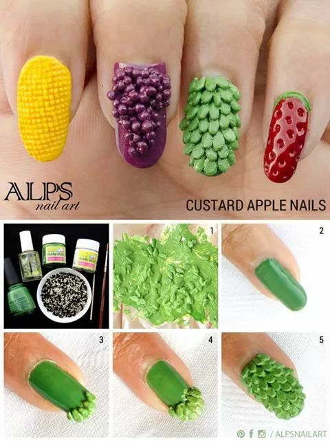 Frutas | uñas | Pinterest | Makeup