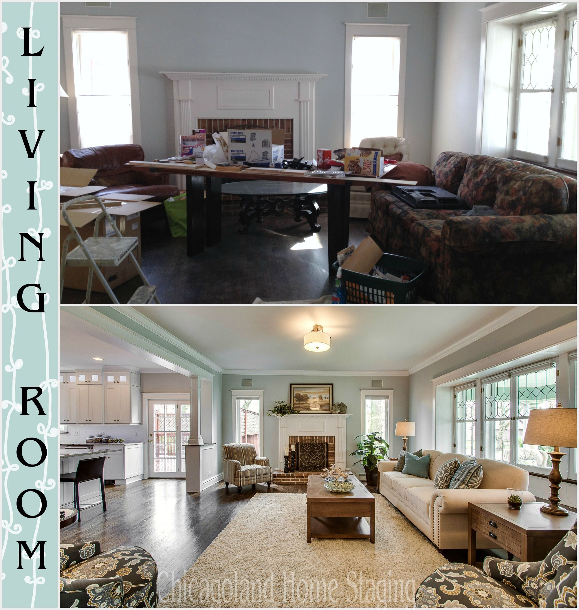 Home Staging Chicago before and after photos of home staging in chicago gorgeous work